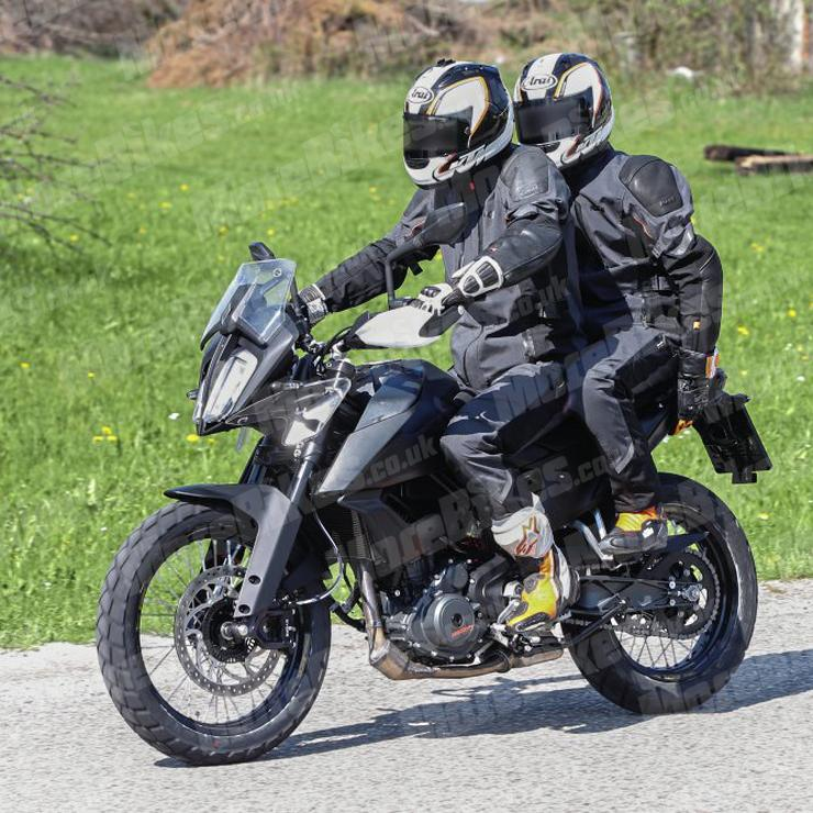 KTM Duke ADV 390 SPIED testing with a pillion on-board