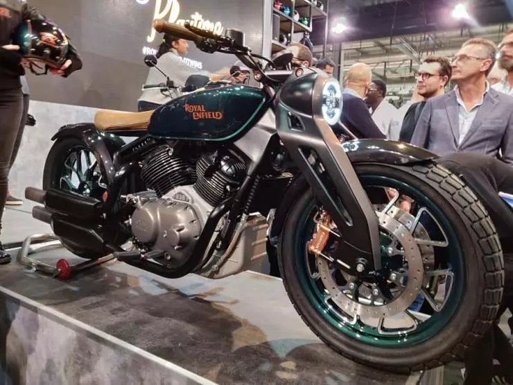 Royal Enfield 838cc Bobber Kx Revealed