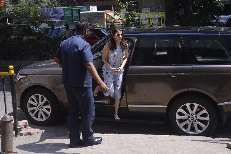Anuskha Sharma Range Rover Vogue