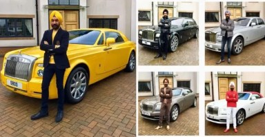 Billionaire Sardar is Rolls Royce-OBSESSED: Has a Rolls Royce for every turban colour