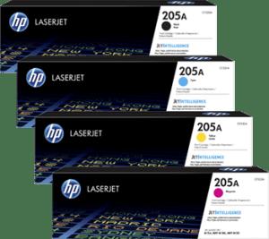 HP 205A Toner Cartridges Manchester CF530A CF531A CF532A CF533A