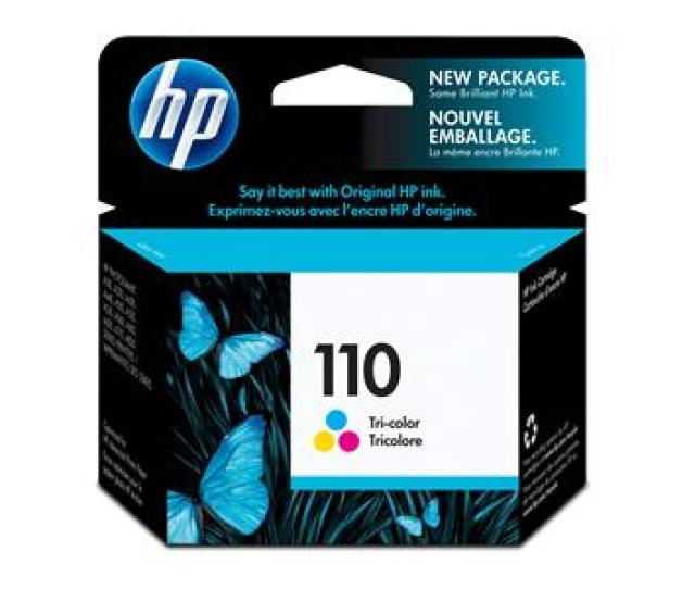 Hp No 110 Tri Colour Ink Cartridge
