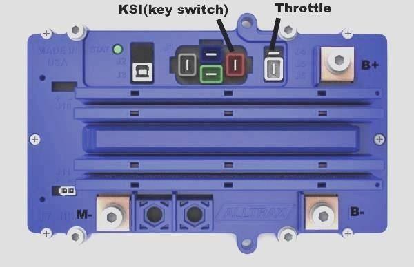 alltrax sr48400td 400 amp speed controller new free shipping