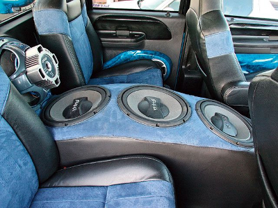 interior car audio design luxury