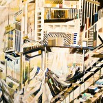 Ricky Allman's Abstract Cityscapes at Marine Contemporary
