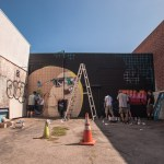 Dabs Myla & NEW2 mural at Branded Arts
