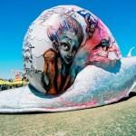 Coachella: Herakut's Snail