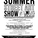 Le Summer Street Art Show at Lexington Social House