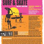 Surf & Skate Silent Art Auction