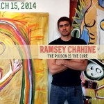 Ramsey Chahine The Poison is the Cure at Inside/Outside Gallery in West Los Angeles