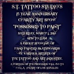 """Possessed to Paint,"" Suicidal Tendencies Tattoo 15 Year Anniversary Show at D.T.L.A Tattoo"