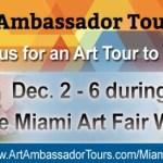 Cartwheel Art Tours & Art Ambassador Tours Present Miami Art Tour 2015 (#ArtTourMiami)