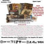 October 17: Record Cover Art Show Chinatown