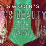 "Save the Date: ""Pearly's Beauty Shop"" exhibition/fundraiser, curated by Swoon at Superchief Gallery DTLA – Saturday May 21st"