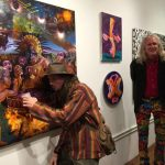 "Photo Coverage: Opening Reception for the ""Winter Invitational"" at C.A.V.E. Gallery"