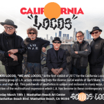 "Save the Date: ""SOMOS LOCOS"" Exhibition & Music with CALIFORNIA LOCOS, at Manhattan Beach Art Center – March 18th"