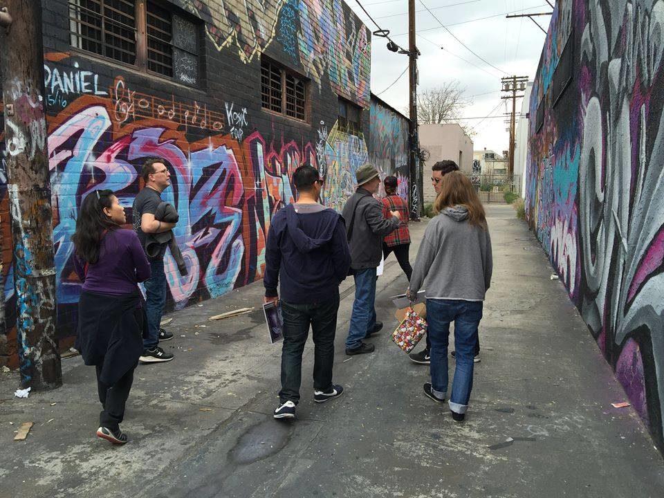 Cartwheel Art's DTLA Graffiti Tour with Steve Grody