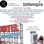 SAVE THE DATE & PREVIEW: Littletopia Returns To The LA Art Show from January 10th – 14th