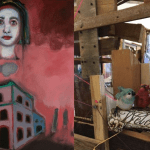 "SAVE THE DATE: ""Foundation"" – A Two Woman Show at Art Share LA – May 5th, 7-10 pm"