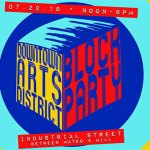 SAVE THE DATE: DTLA Arts District Block Party – Sunday July 22