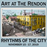 "SAVE THE DATE: Art At The Rendon's ""Rhythms of the City"" Is Coming This Fall – November 15 – 17, 2019"