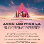 SAVE THE DATE: Akon Lighting LA Brings Music, Art, and Enlightenment to the Arts District – November 15 – 16, 2019