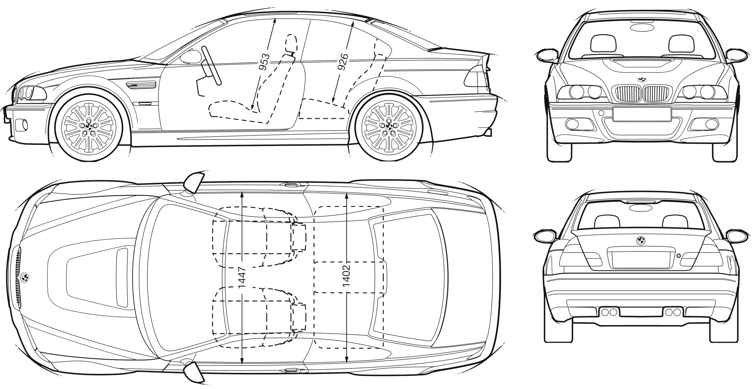 Does Anyone Have That Picture Of An E46 Drawing