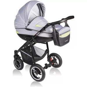 Carucior Crooner Vessanti 2 in 1 Green - Gray 4