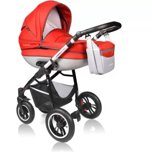 Carucior Crooner Prestige Vessanti 3 in 1 Red 1