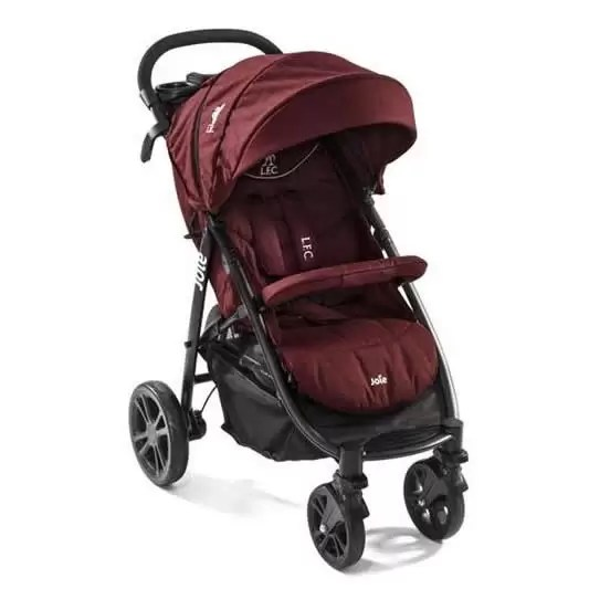 joie carucior multifunctional litetrax 4 flex liverpool red 2