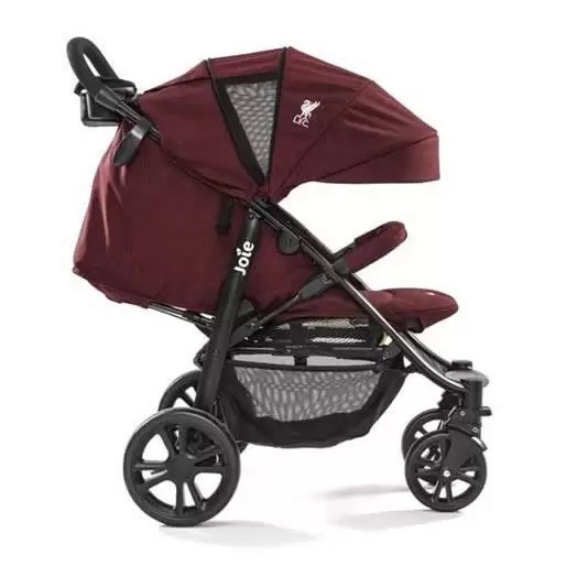 joie carucior multifunctional litetrax 4 flex liverpool red 4