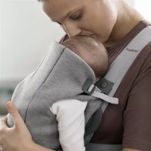 babybjorn marsupiu anatomic mini light grey 3d jersey 1