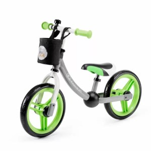 Bicicleta fara pedale 2Way Next Kinderkraft green grey