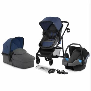 Carucior Juli Kinderkraft 3 in 1 navy
