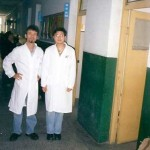 Frank Caruso, L.Ac. Photo Gallery - ChengDu Hospital with Interpreter