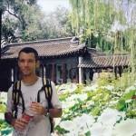 Frank Caruso, L.Ac. in NanJing, China 2002