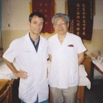 Frank Caruso, L.Ac. With Dr. Shi, NanJing University Hospital