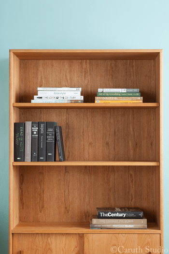 How-to-style-a-bookcase-step-3