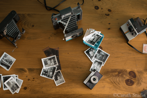 vintage photos and cameras