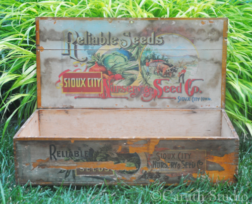 Vintage Reliable Seed box
