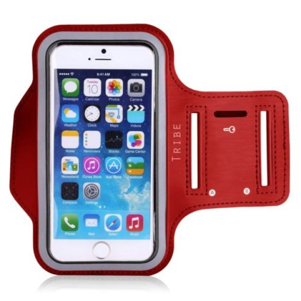 Water resistant sports armband