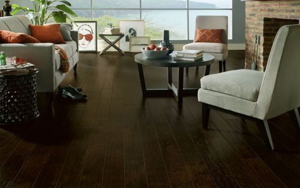 Armstrong Maple Rich Brown flooring