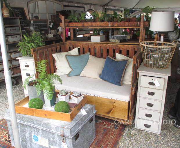Brimfield antique bed
