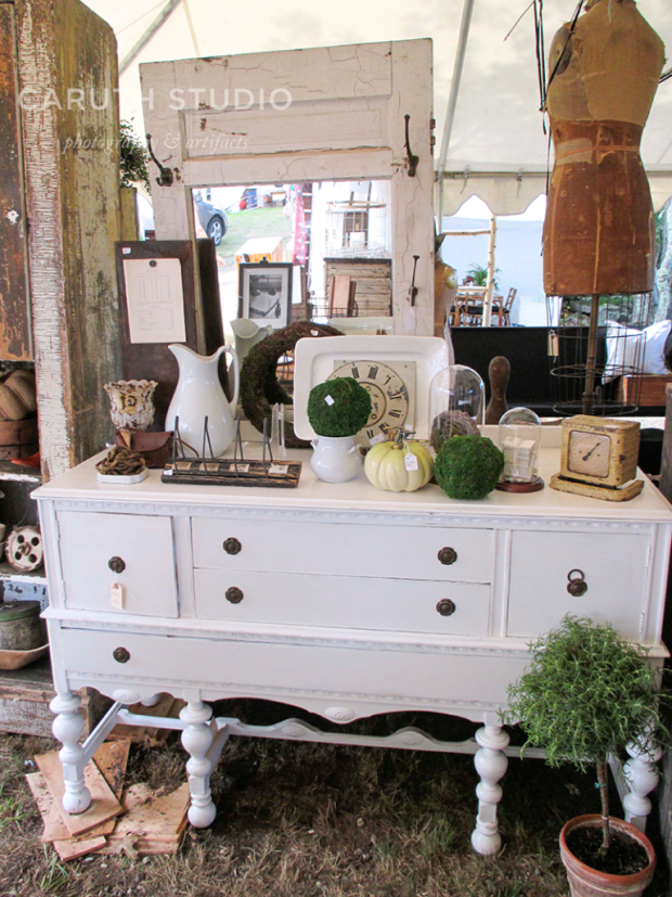 Brimfield antique dresser