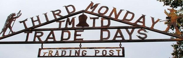 Third Monday Trade Days banner