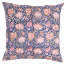 Meridian Block Print Pillow