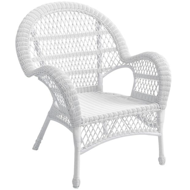 Pier1_Santa Barbara CollectionWhite Armchair