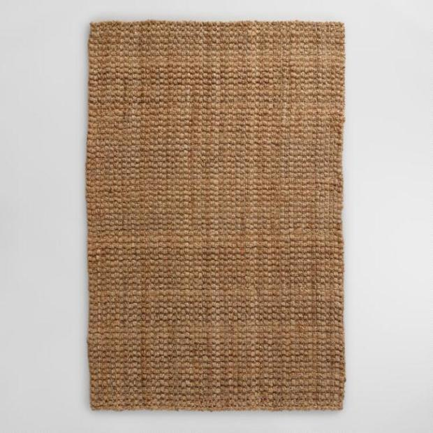 WorldMarket_Natural Basket Weave Jute Rug