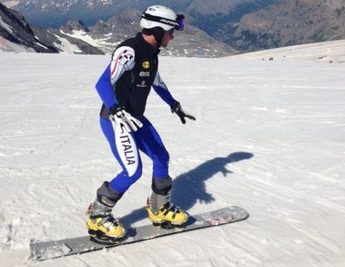 Nuovi scarponi scarpa da snowboard hard - Tavola snowboard attacchi offerta ...