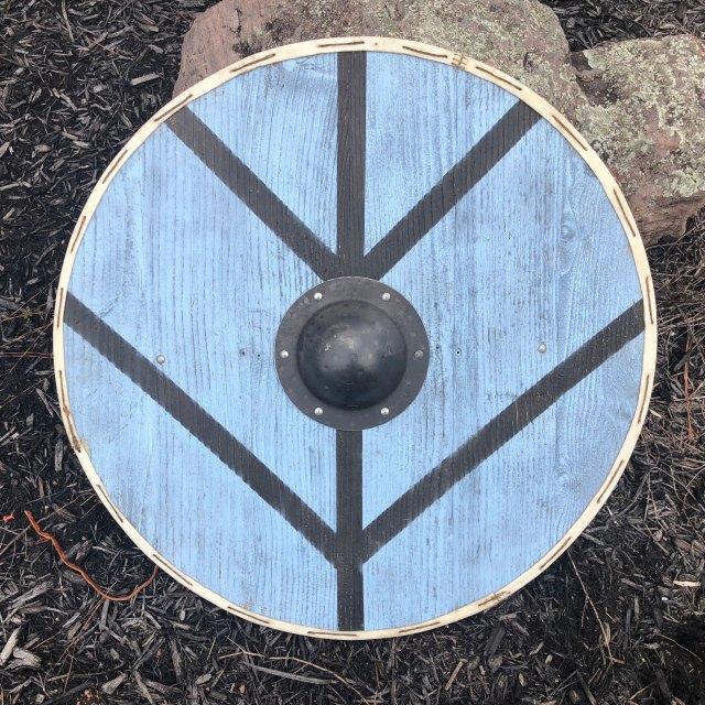 Finished viking shield